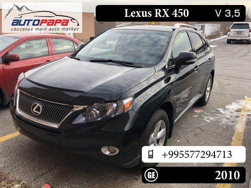 lexus rx 450, 29 000 gel, 2010 (# 569412) — autopapa — caucasus main